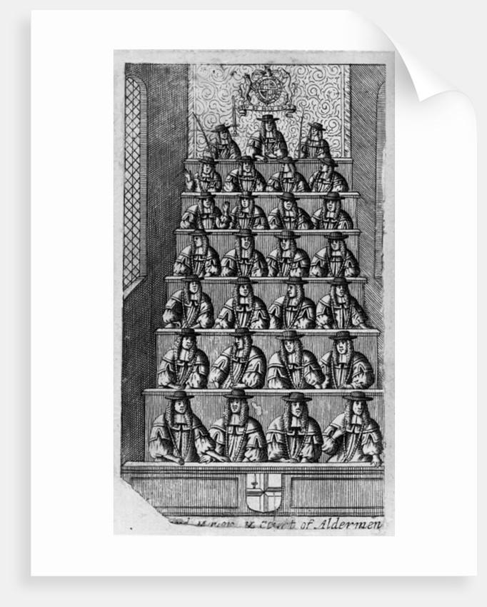 Court of Aldermen by English School