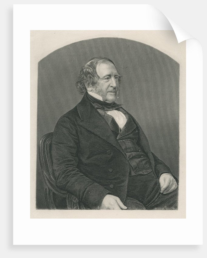 John Campbell, 1st Baron Campbell of St. Andrews, engraved by D.J. Pound from a photograph by John Jabez Edwin Paisley Mayall