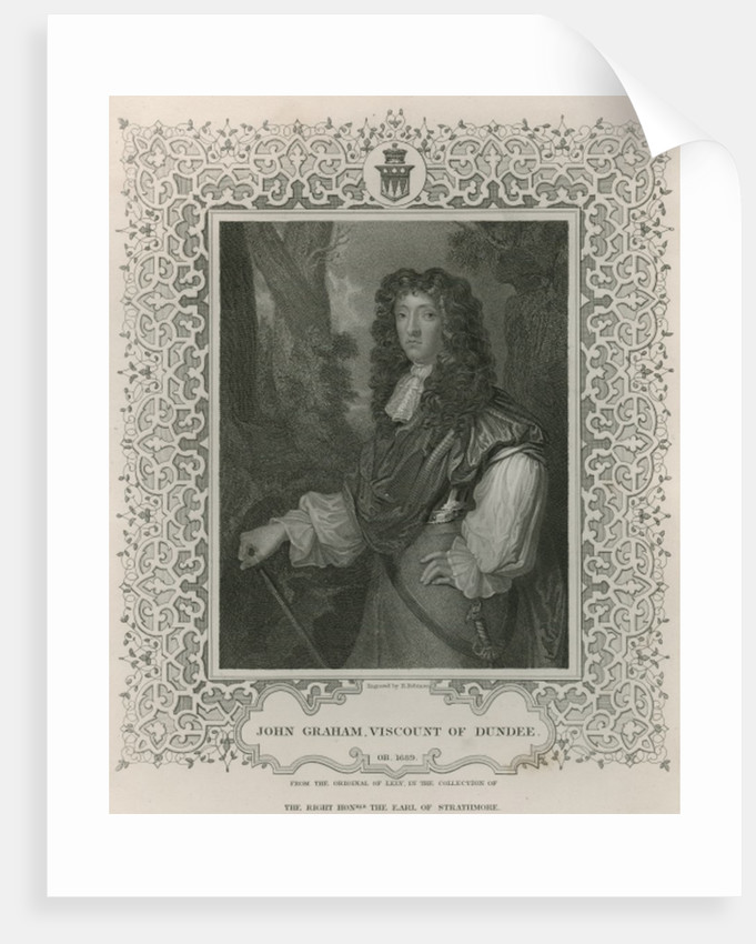 John Graham of Claverhouse, 1st Viscount of Dundee by Sir Peter Lely