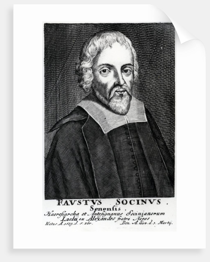 Fausto Sozzini by Italian School