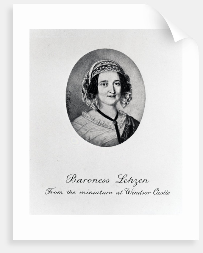 Baroness Louise Lehzen by English School