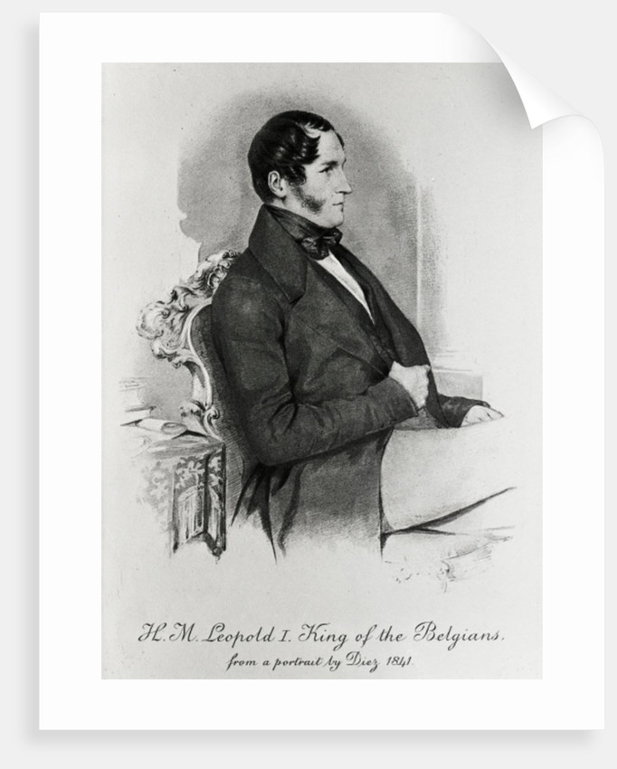 Leopold I, King of the Belgians by Samuel Diez