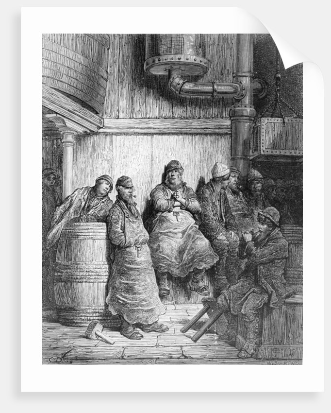 Brewers at Rest by Gustave Dore