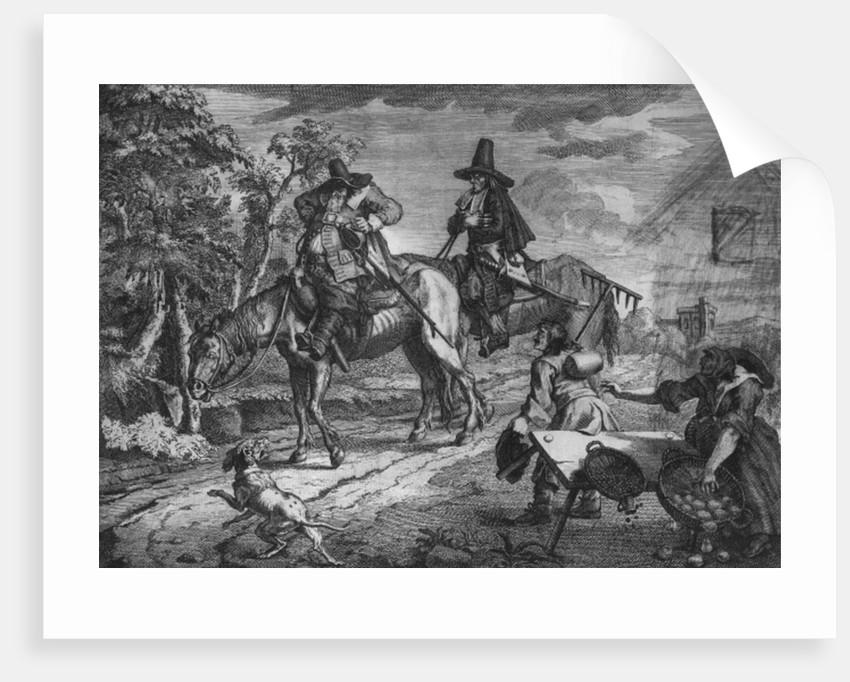 Hudibras Sallies Forth, Plate II by William Hogarth