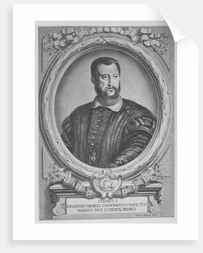 Cosimo I de'Medici, Grand Duke of Tuscany by Adrian Haelwegh