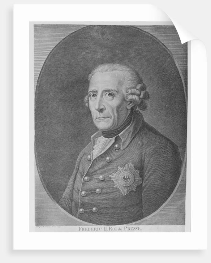 Friedrich II, King of Prussia by Anton Graff