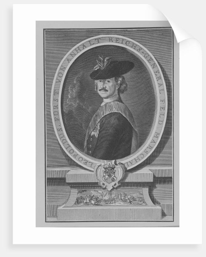 Leopold I, Prince of Anhalt-Dessau by Antoine Pesne