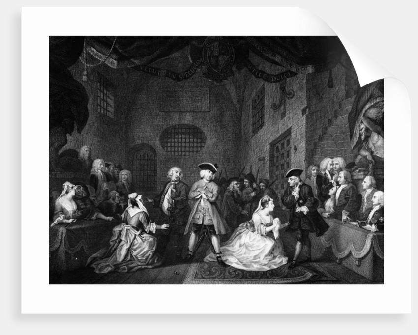 The Beggar's Opera, Scene III, Act XI by William Hogarth