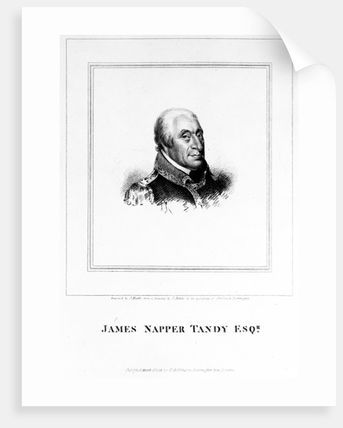 James Napper Tandy by James Petrie