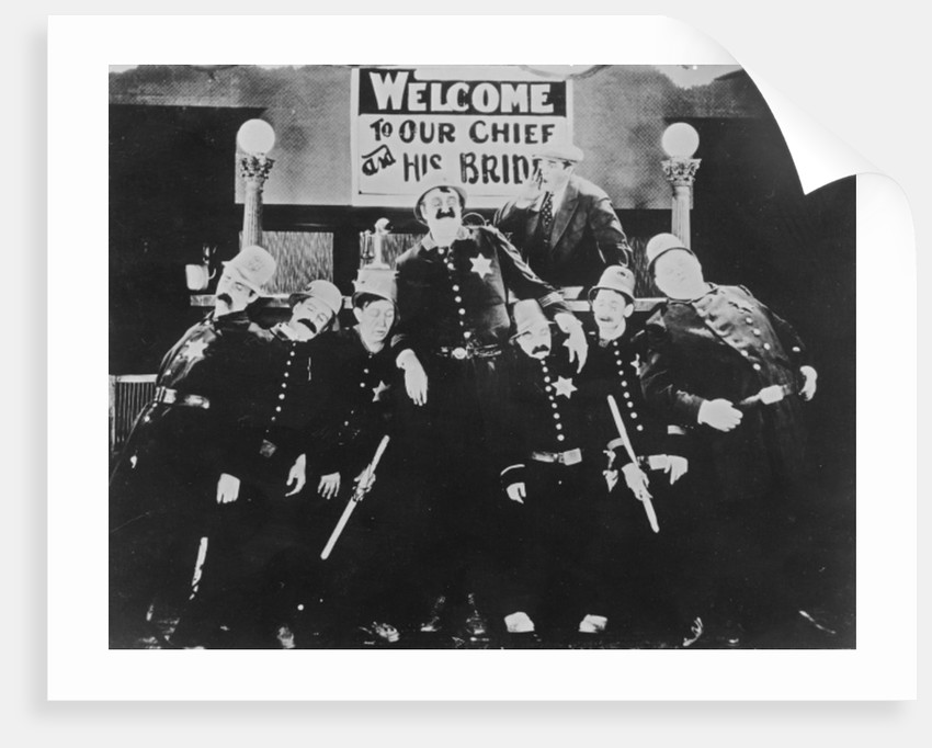 The Keystone Kops by American Photographer
