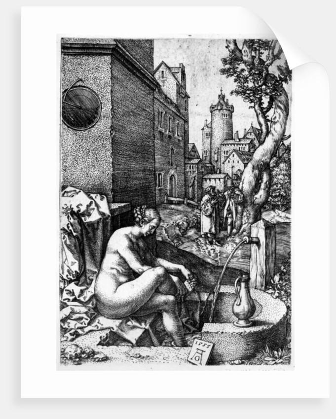 Susanna and the Elders by Heinrich Aldegrever