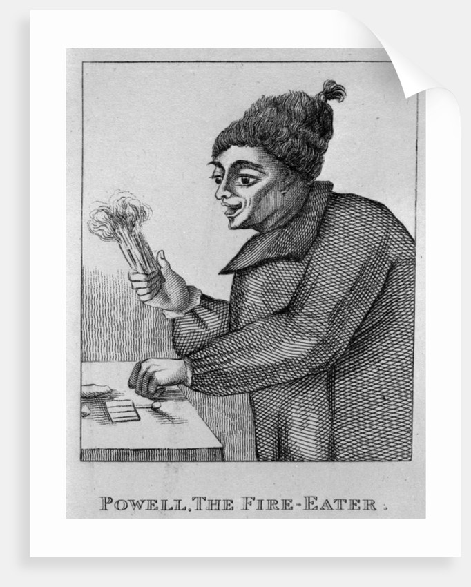 Robert Powell, The Fire Eater by English School