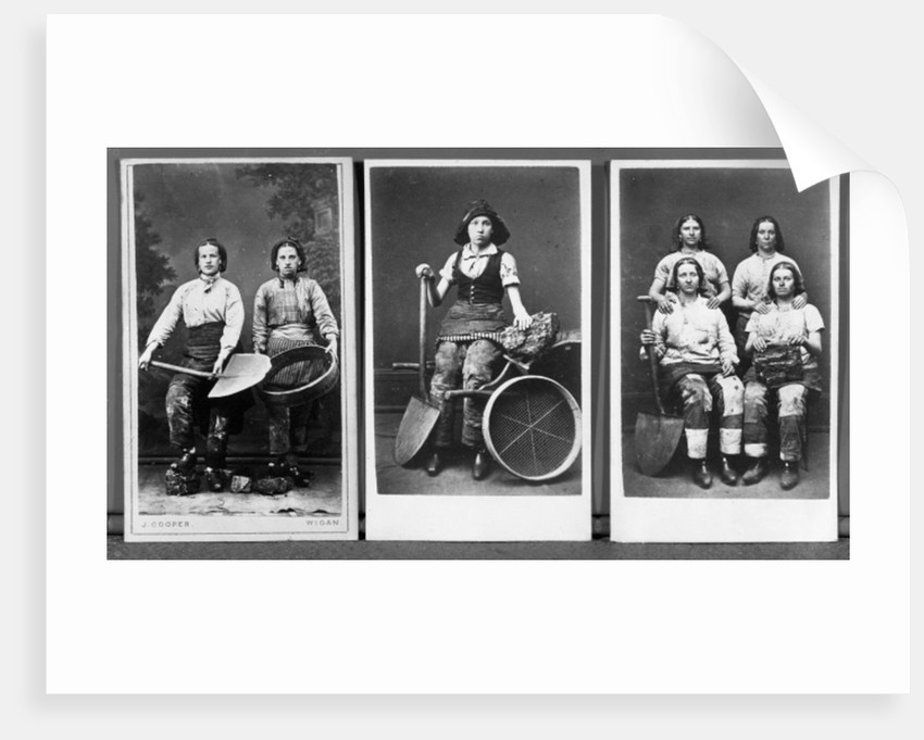 Wigan pit girls by English Photographer