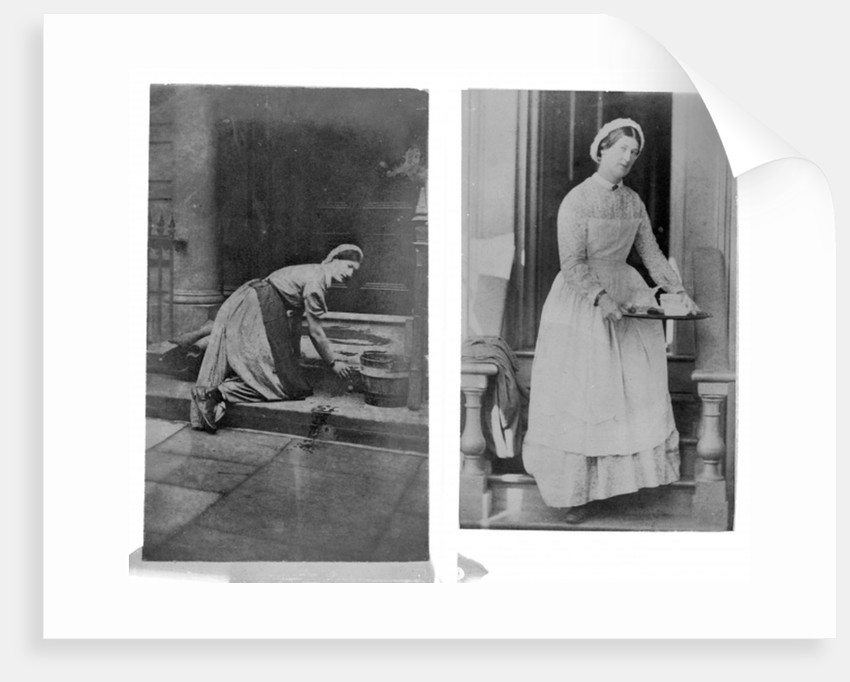Household maid by English Photographer