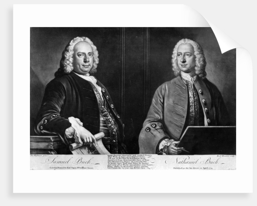 The Buck Brothers, engraved by Richard Houston by Joseph Highmore