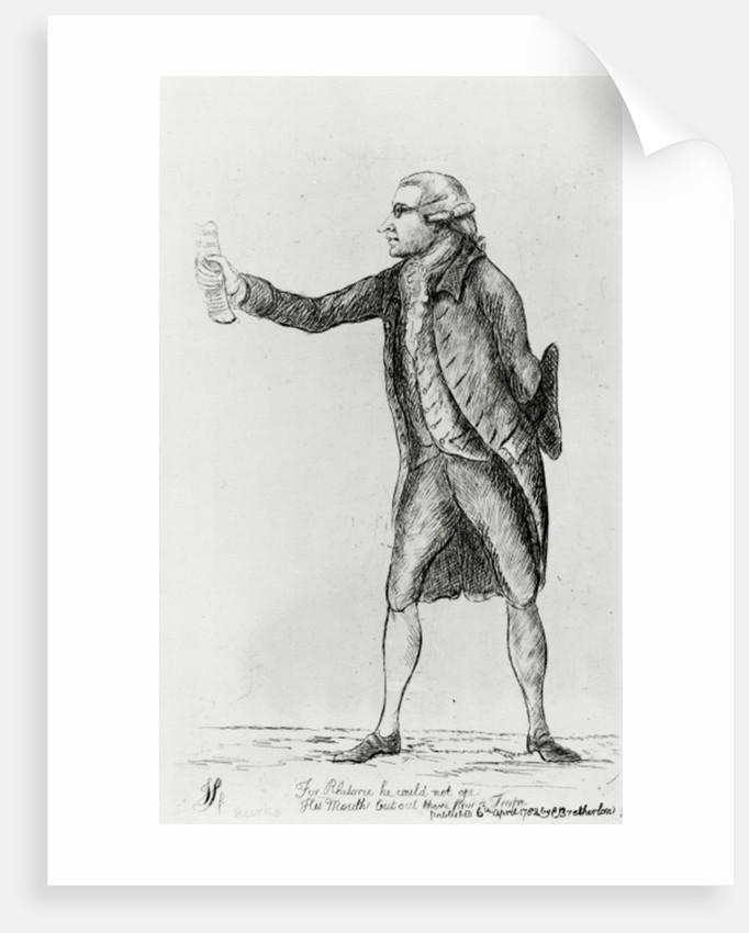 Edmund Burke by Charles Bretherton