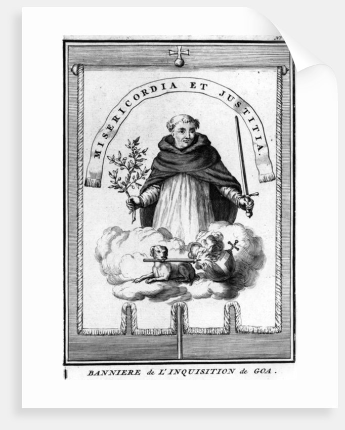 Banner of the Goa Inquisition by French School