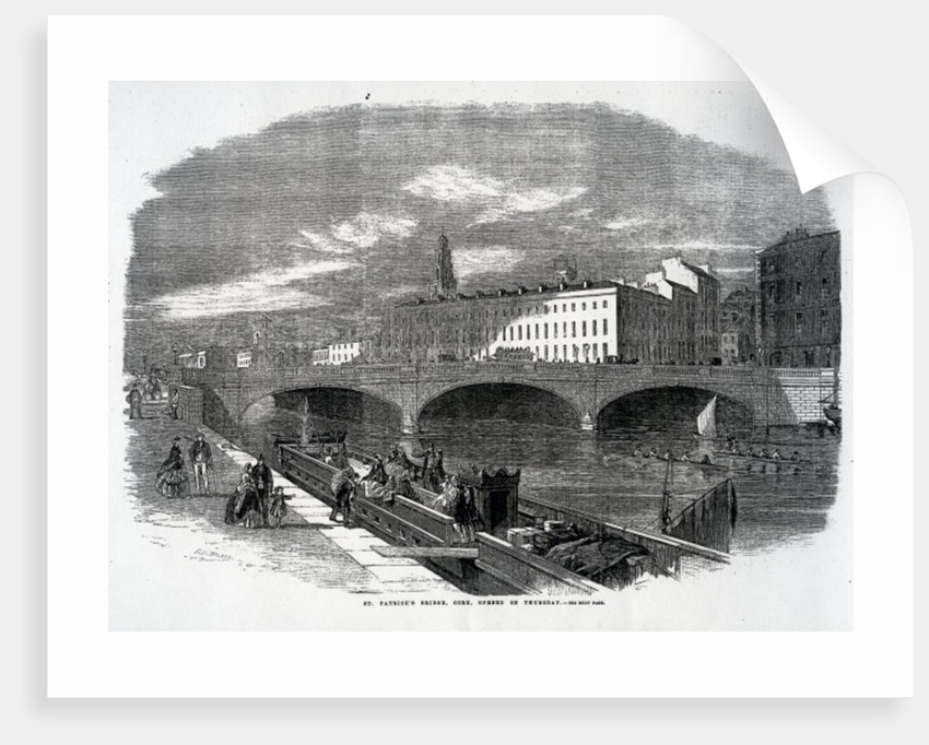 St. Patrick's Bridge, Cork, Opened on Thursday by English School