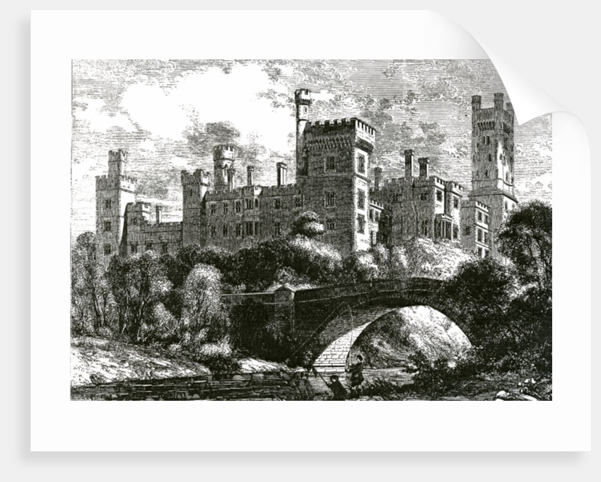 Lismore Castle by English School