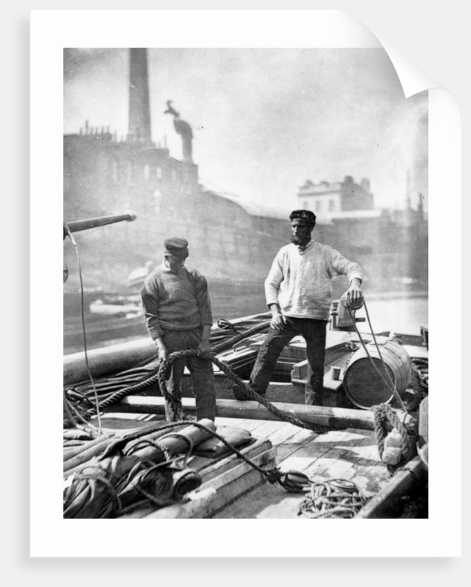 Workers on the 'Silent Highway' by John Thomson