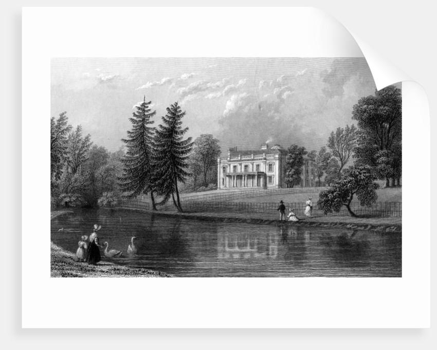 Moor Hall, Near Harlow, Essex by William Henry Bartlett