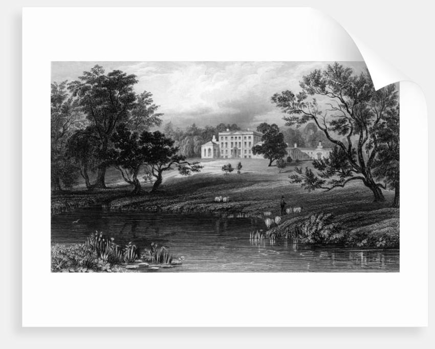 Mistley Hall, Essex by William Henry Bartlett