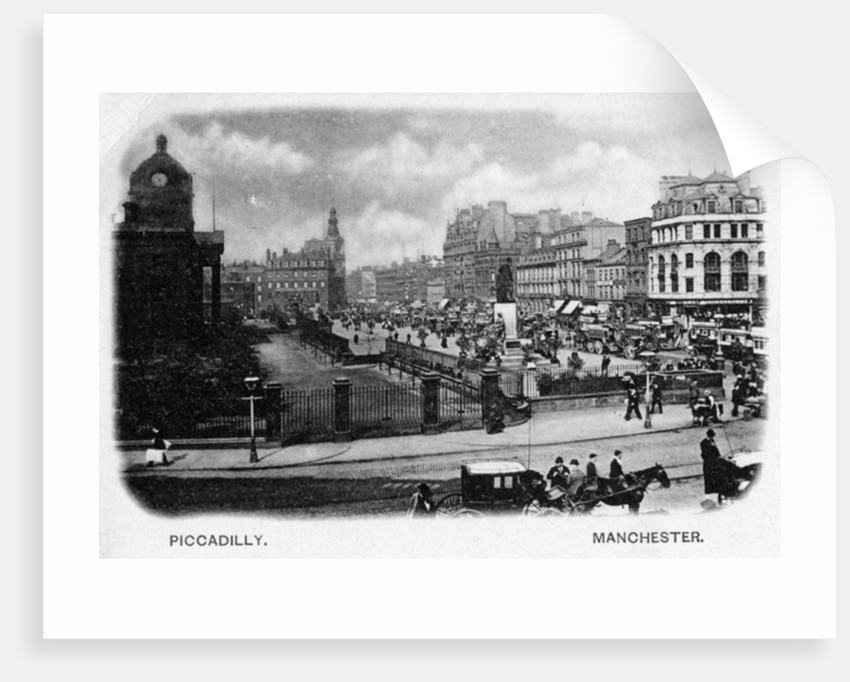 Piccadilly, Manchester by English Photographer