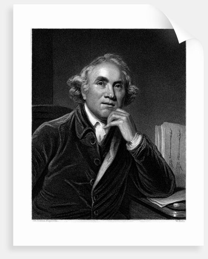Portrait of John Hunter by Sir Joshua Reynolds