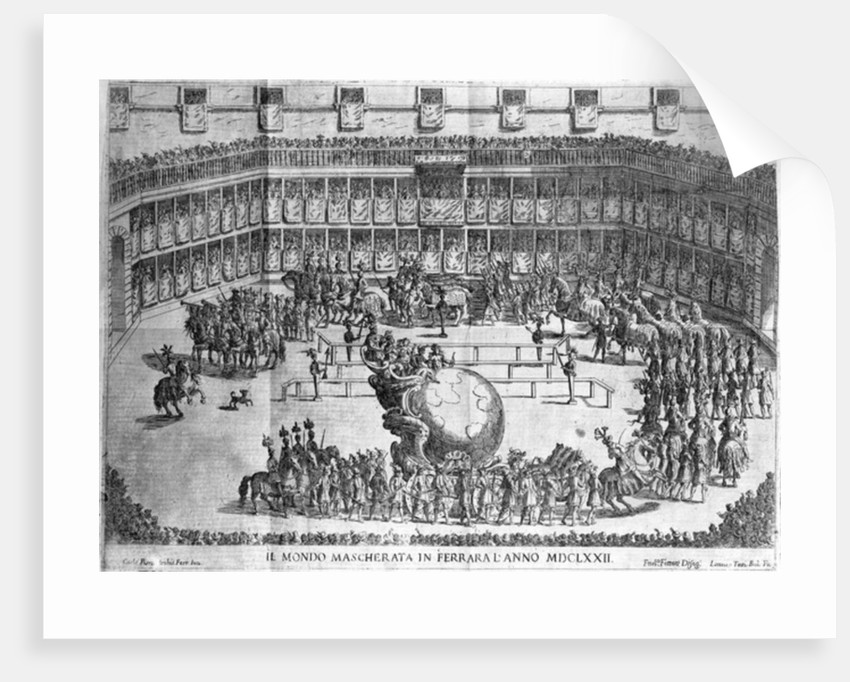 Procession of the Globe, Ferrara by Francesco Ferrari
