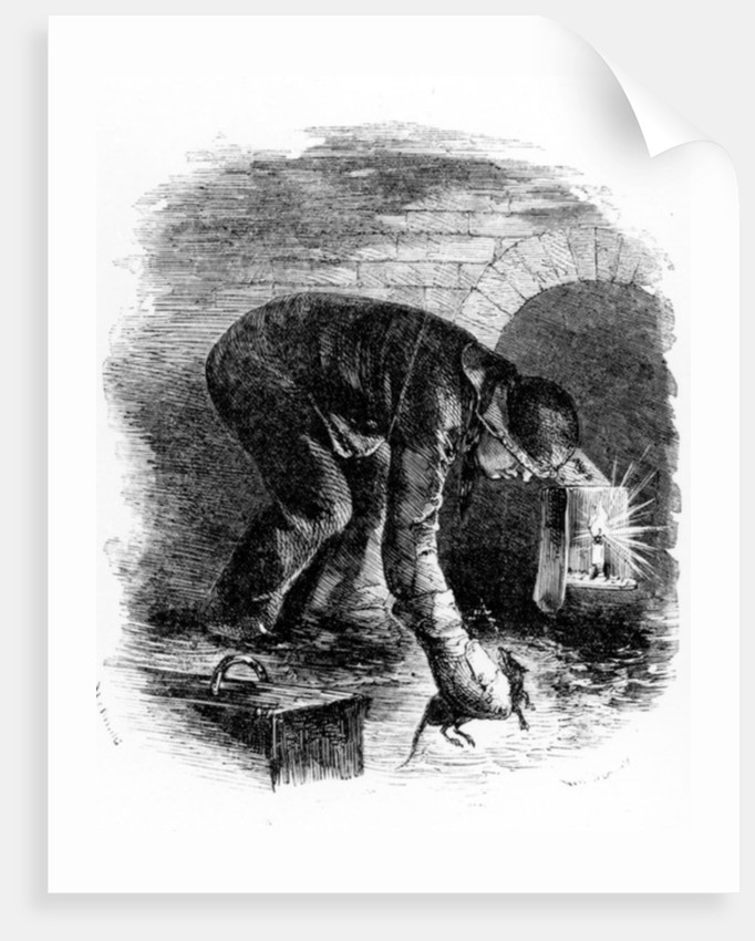 The Rat-Catchers of the Sewers by English School