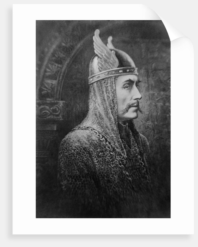 Sir Johnston Forbes-Robertson in the role of Macbeth by English School
