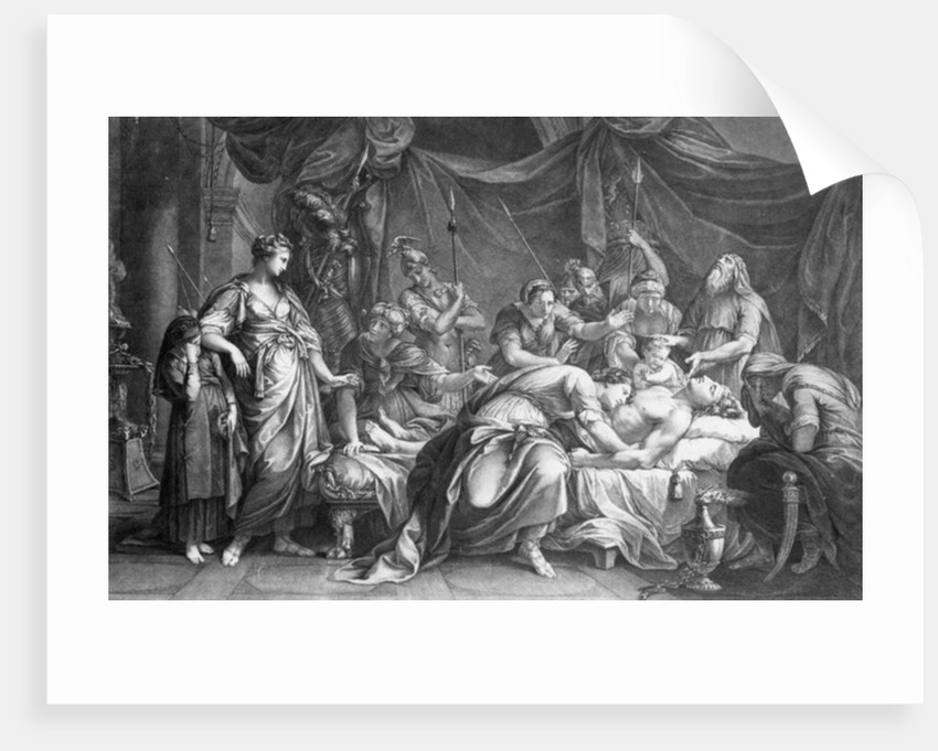 Andromache bewailing the death of Hector by Gavin Hamilton