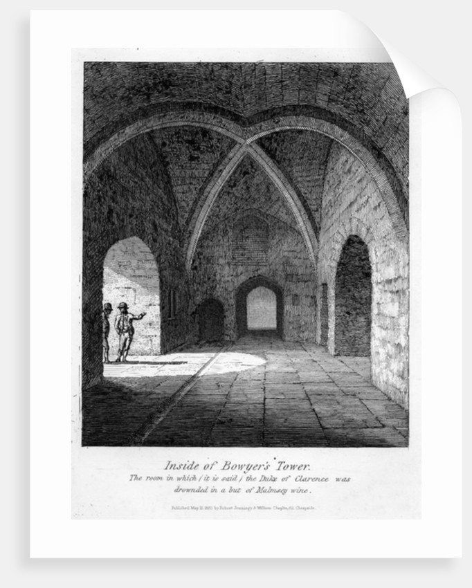 Inside of Bowyer's Tower by English School