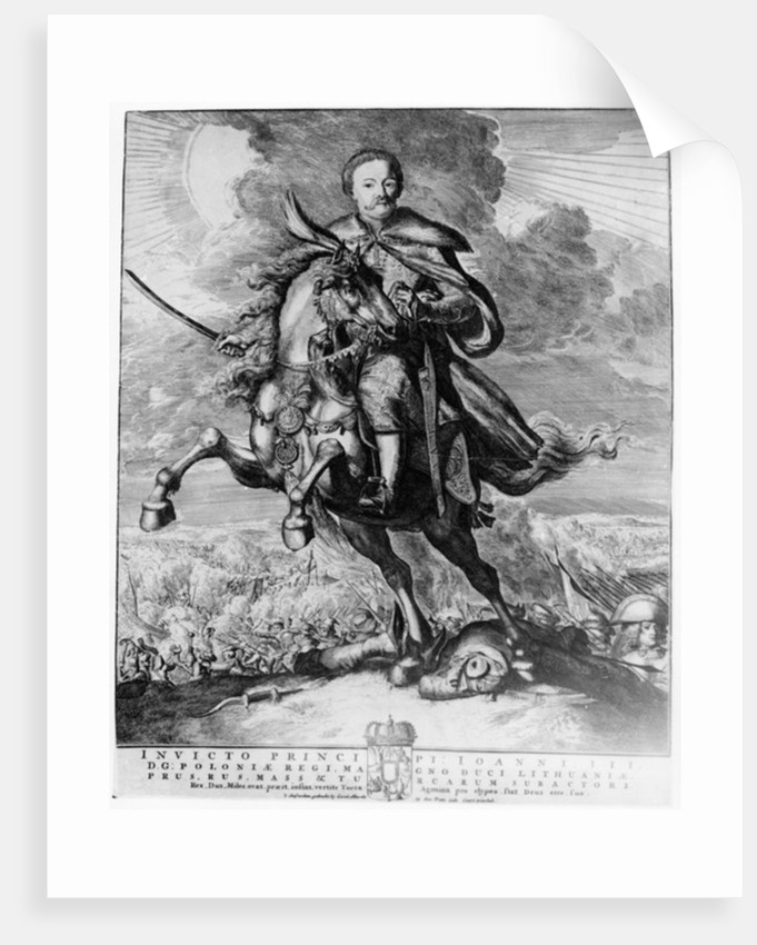 John Sobieski, King John III of Poland by Carolus Allardt