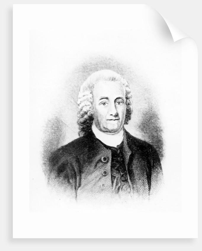 Emmanuel Swedenborg by Carl Frederik van Breda