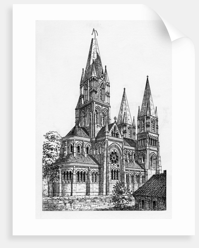 Cork Cathedral by Irish School