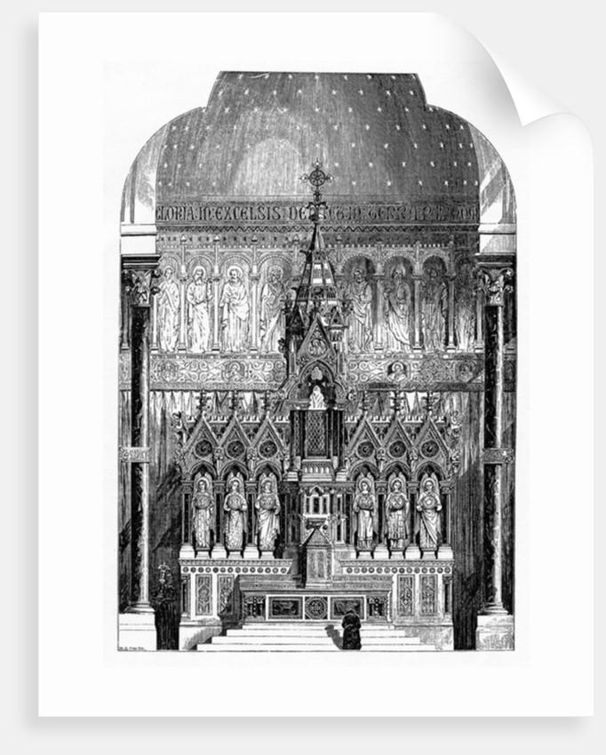 High Altar of St Alphonsus Liguori, Limerick, Ireland by Irish School