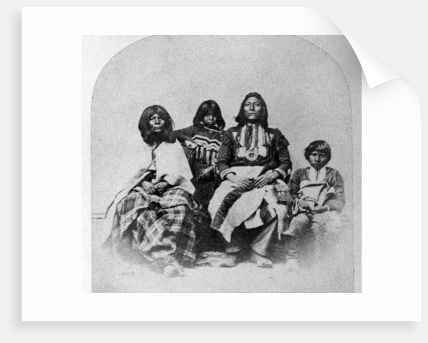 Ute Family by Charles Roscoe Savage