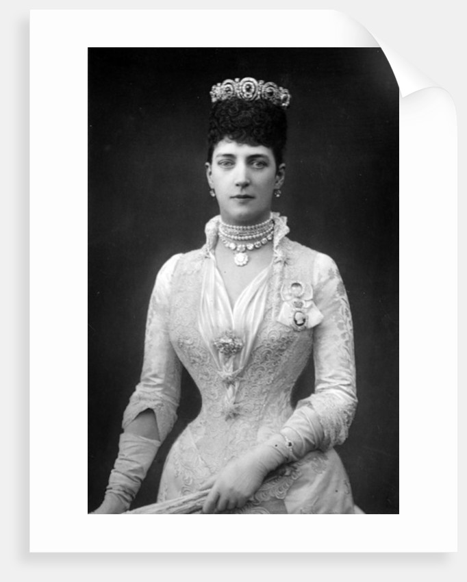 Alexandra, Queen Consort of Edward VII of Great Britain by English Photographer