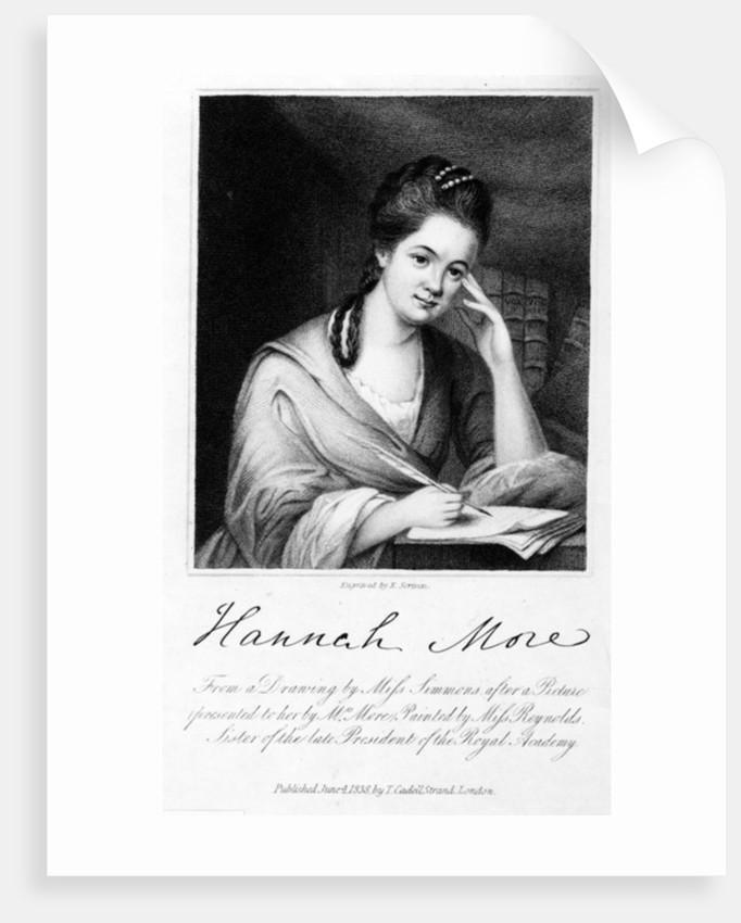 Hannah More by Frances Reynolds