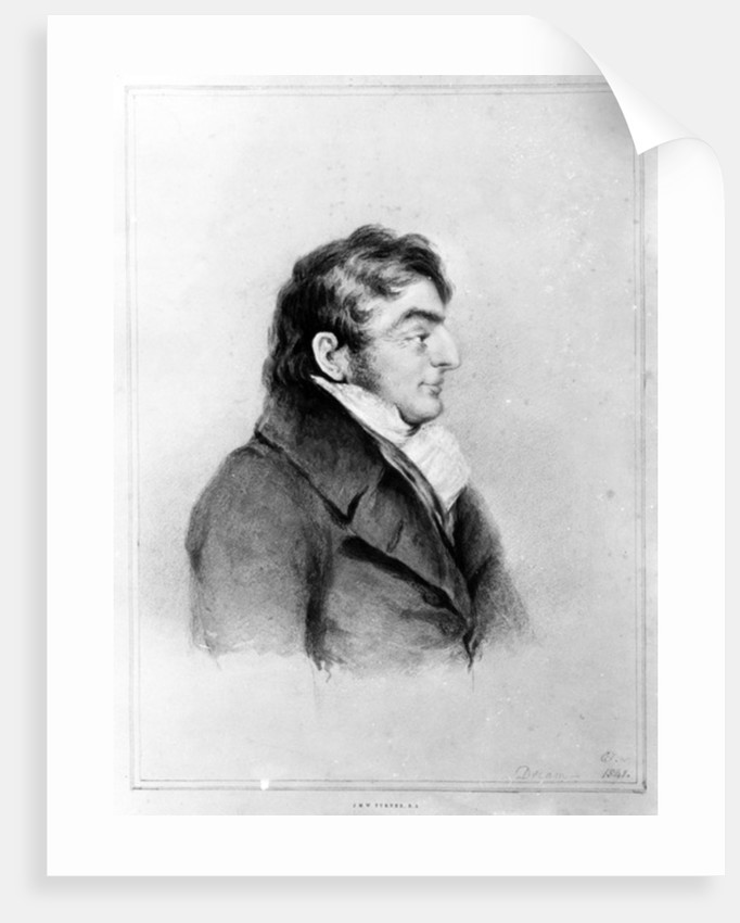 Portrait of Joseph Mallord William Turner by Charles Turner