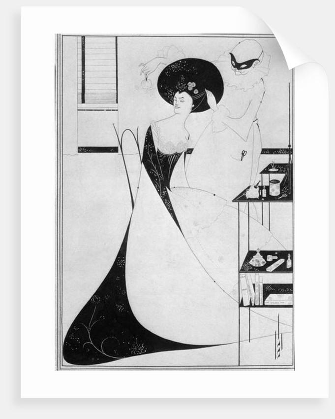 The Toilet of Salome by Aubrey Beardsley
