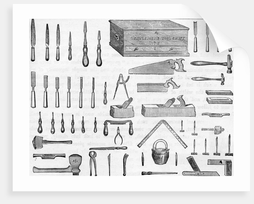Gentleman's Tool Chest no.6 by English School