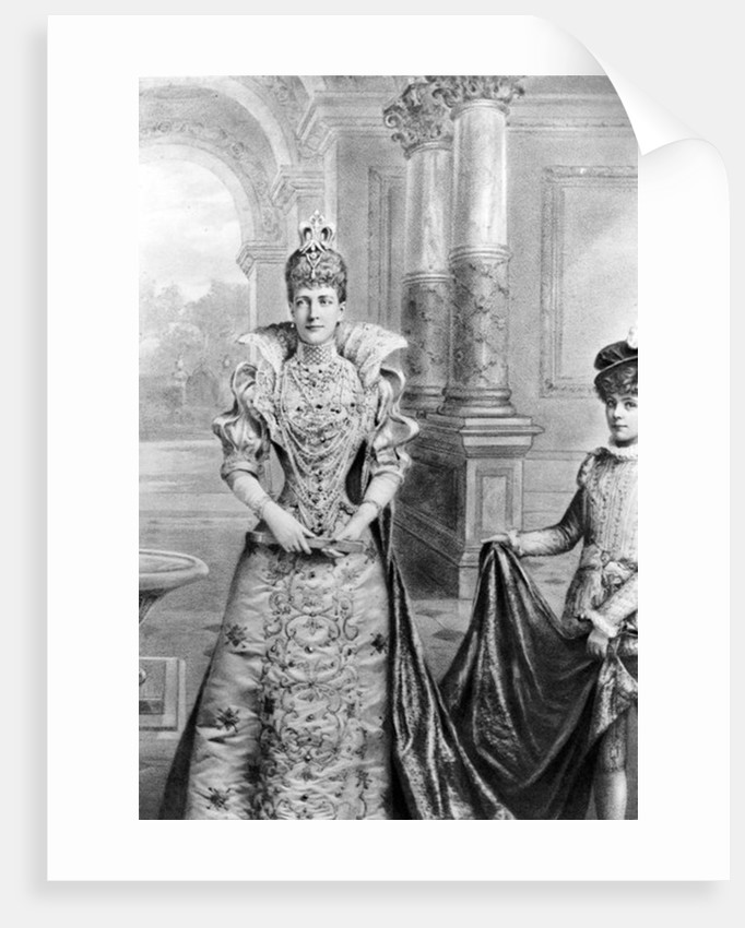 Alexandra of Denmark, Queen Consort of the United Kingdom and the British Dominions by English School