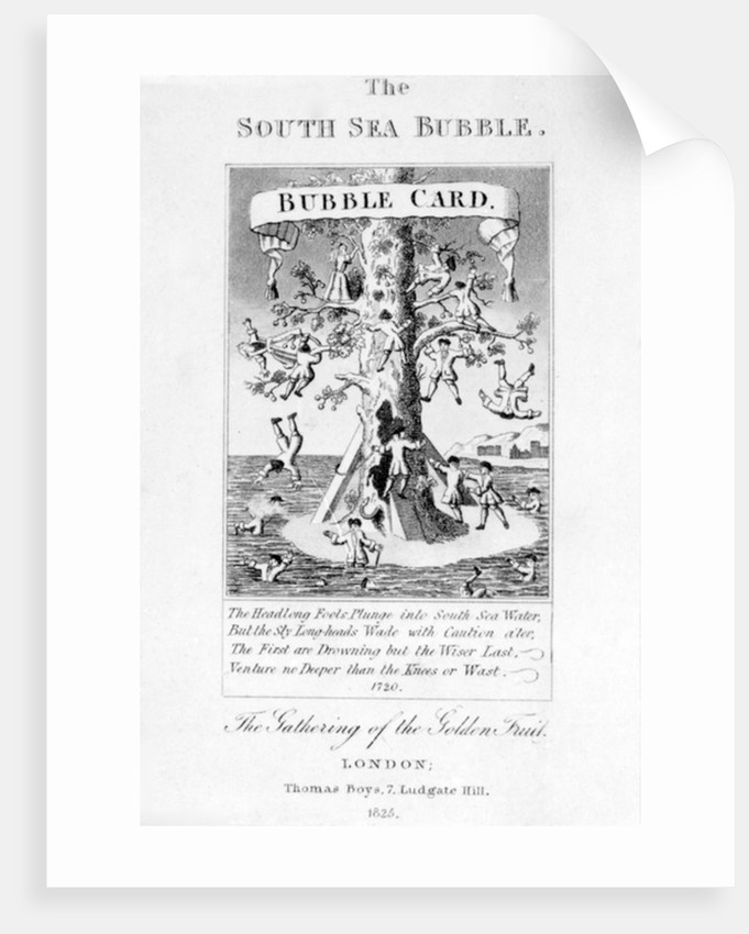 The South Sea Bubble by English School