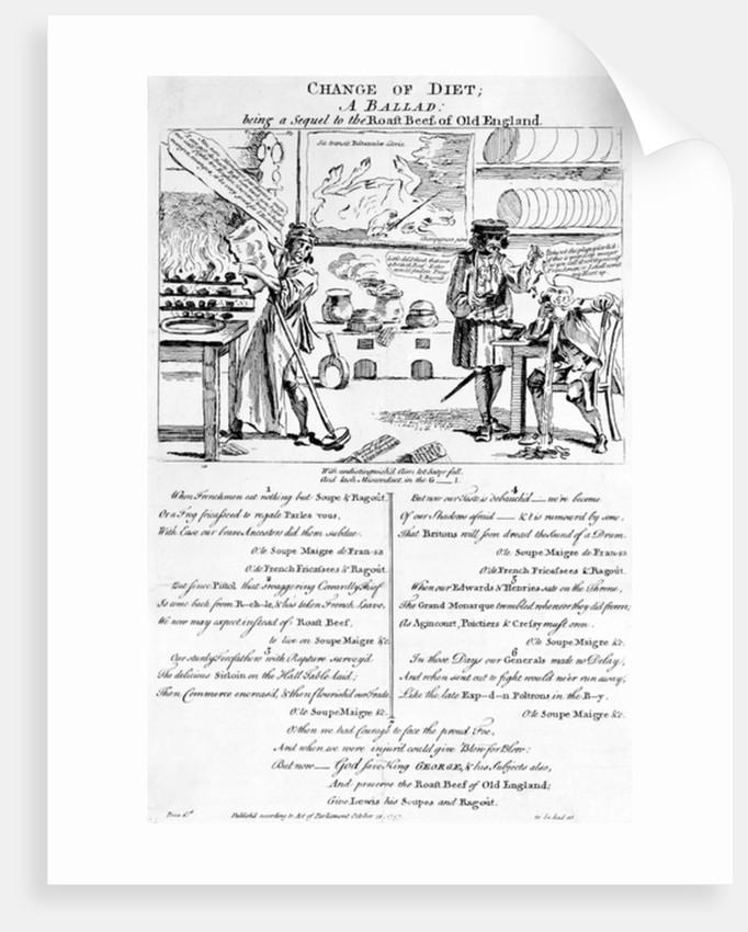 Change of Diet, A Ballad by English School