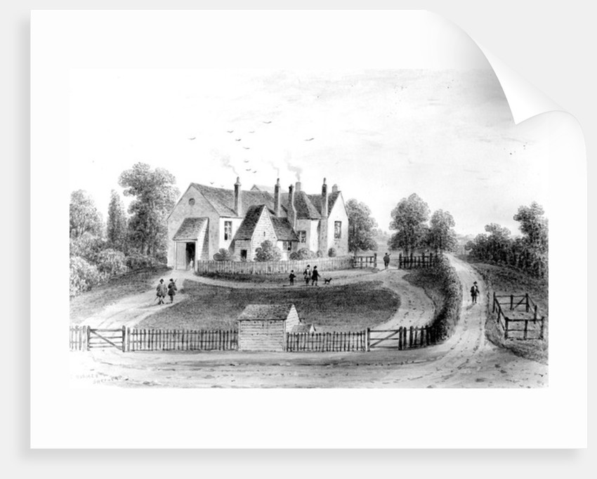 View of the Lord Mayor's Banqueting House, on the site of Stratford Place, Oxford Street, drawn by Thomas Hosmer Shepherd by English School