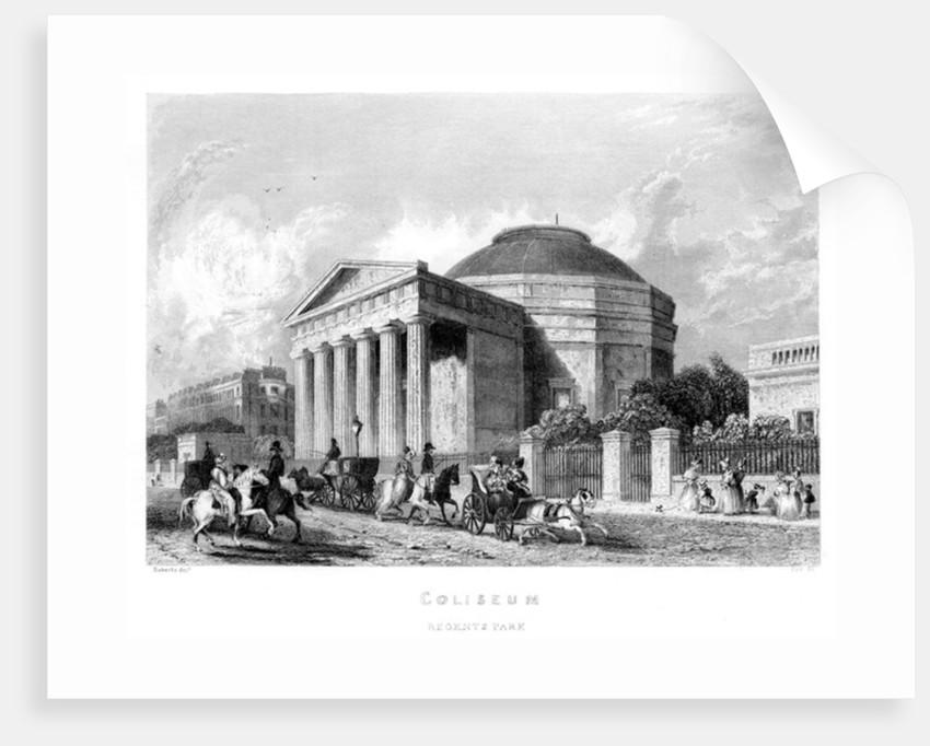 Coliseum, Regent's Park by English School