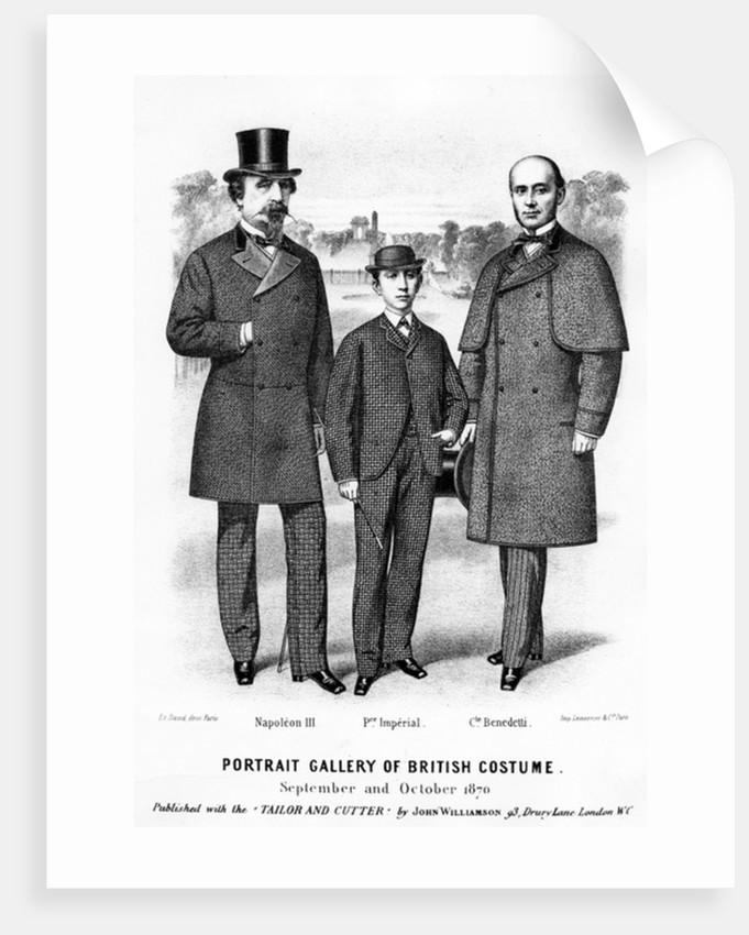 Portrait Gallery of British Costume by English School