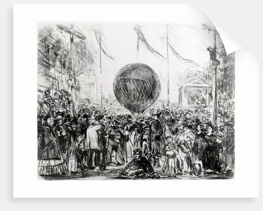 The Balloon by Edouard Manet